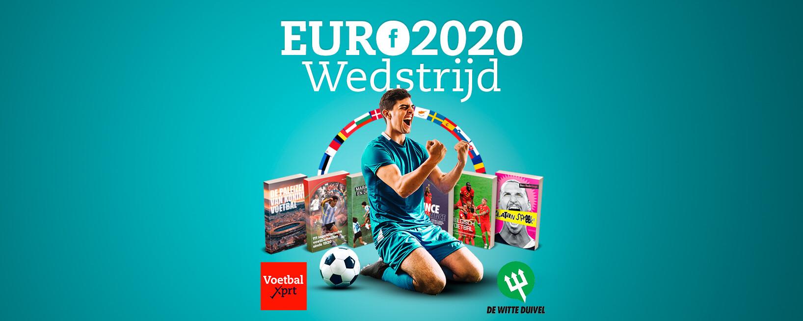 WIN 6 voetbalboeken met onze EURO 2020 wedstrijd