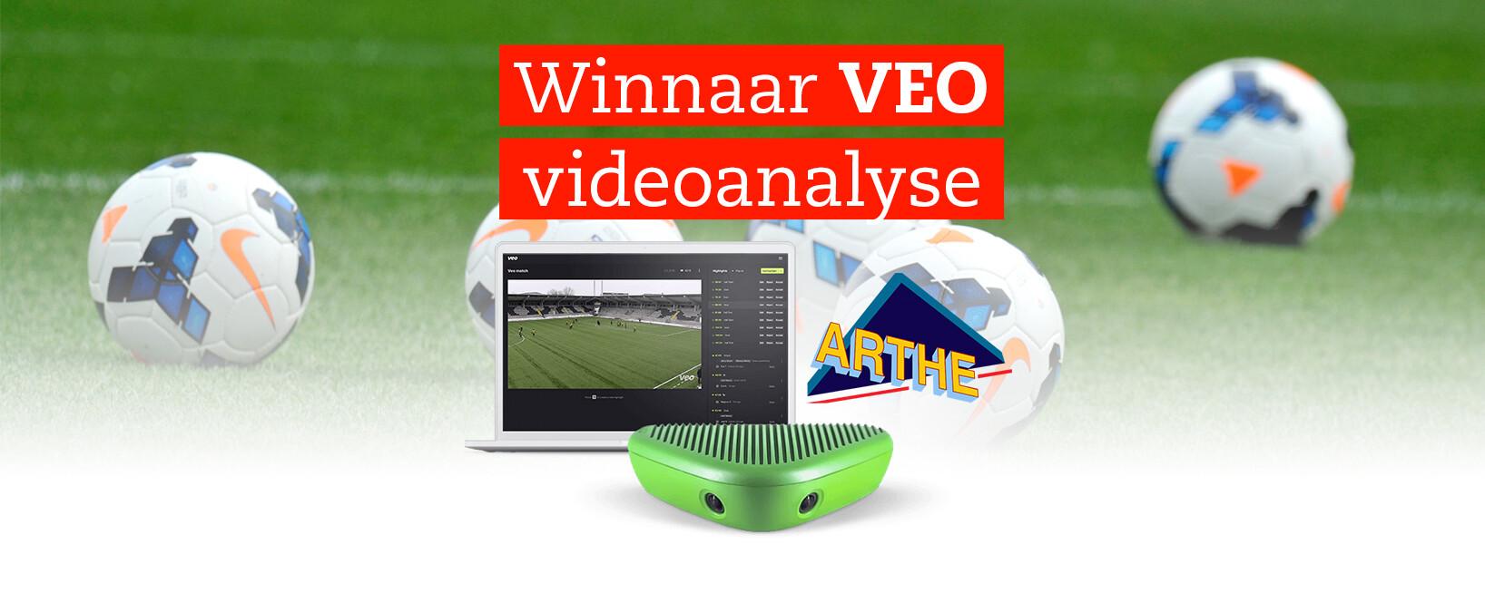 Bekendmaking winnaar VEO video-analyse